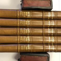 Nagazinu Istoricu Pentru Dacia, 5 VolumeA.Treboiu Laurian și Nicolae Bălcescu, tiparită in colegiul național între anii 1845-1847 - Carte de lux