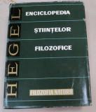 ENCICLOPEDIA STIINTELOR FILOZOFICE. PARTEA A DOUA: FILOZOFIA NATURII de HEGEL 1971