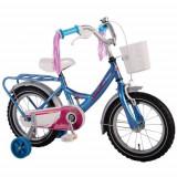 Bicicleta cu Roti Ajutatoare Ashley 14 inch