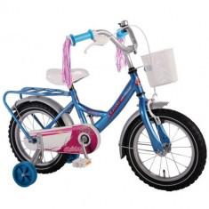 Bicicleta cu Roti Ajutatoare Ashley 14 inch - Bicicleta copii