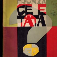 Eugen Frunza -Ce e tata, volum de versuri despre meserii