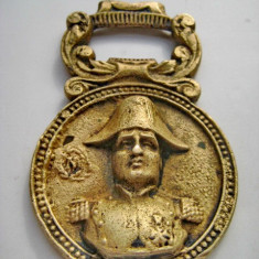 Desfacator Napoleon Paris Franta bronz masiv. Inaltime 8.3, latime 5.5 cm.