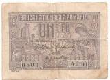 ROMANIA 1 LEU 1915 U
