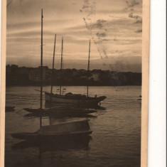 CPI B 10167 CARTE POSTALA - CONSTANTA. PORTUL, YACHTING LA AMURG - Carte Postala Dobrogea dupa 1918, Circulata, Fotografie