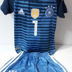 Echipamente portar  pentru copii Germania Neuer set fotbal model nou