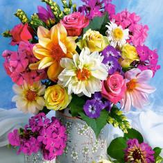 Puzzle Castorland - 1500 de piese - Flower Bouquet