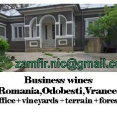 Multiproprietate:afaceri vinicole,podgorie,padure,terenuri constructii+agricole