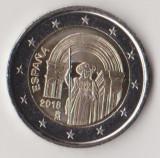 Moneda de 2 euro comemorativa SPANIA 2018_Compostela - UNC, Europa, Cupru-Nichel