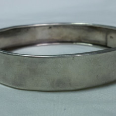 BRATARA argint LATA tip CATUSA splendida VECHE vintage SUPERBA de Efect