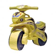 Motocicleta pentru copii Flamingo crem - Vehicul