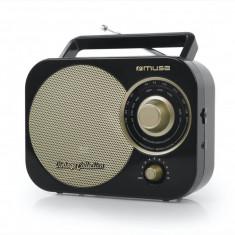 Radio portabil MUSE M-055 RB Vintage Black