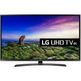 Televizor LG LED Smart TV 49 UJ634V 124cm Ultra HD 4K Black, 125 cm