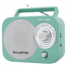 Radio portabil MUSE M-055 RG Turcoaz - Aparat radio