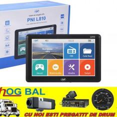Sistem de navigatie GPS PNI L810, 7 inch, Romania
