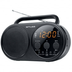 Radio portabil MUSE M-088 R Negru - Aparat radio