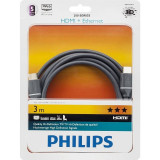 Cablu Philips SWV4433S/10 HDMI Male la HDMI Male Ethernet 3m gri