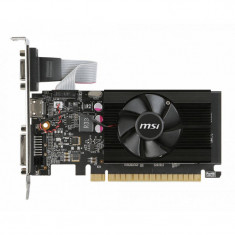 Placa video MSI nVidia GeForce GT 710 1GB DDR3 64bit low profile - Placa video PC Msi, PCI Express