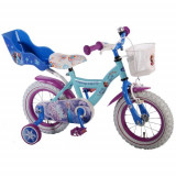 Bicicleta cu Roti Ajutatoare Frozen 12 inch