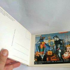 Album cu 30 de carti postale (vederi) POP ART, England, Magna Books,, Necirculata, Printata, Europa