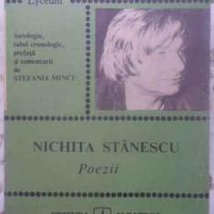 Poezii - Nichita Stanescu, 413161 - Carte poezie