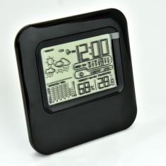 Statie meteo de interior cu ceas, temperatura, umiditate, etc - Noua