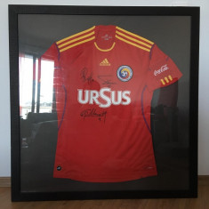 Tricou Nationala de Fotbal a Romaniei - Echipament fotbal Adidas, Marime: One size