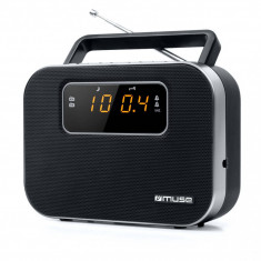 Radio portabil MUSE M-081 R Black - Aparat radio