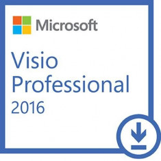 Microsoft Visio Professional 2016 All Languages Windows PC - Aplicatie PC