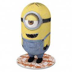 Puzzle 3D Minions figurina, 54 piese Ravensburger