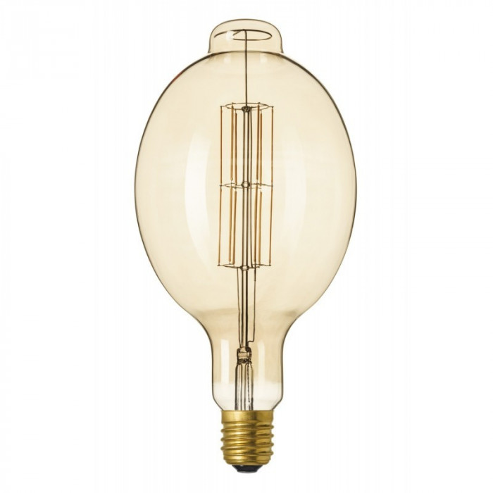 XXL E40 11W 240V Calex Colosseum LED Gold sticlă L