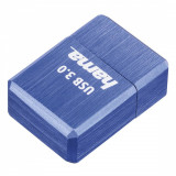 Memorie USB Hama Micro Cube 128GB USC 3.0 Albastru, 128 GB, USB 3.0