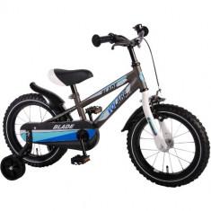 Bicicleta cu Roti Ajutatoare Blade 14 inch - Bicicleta copii