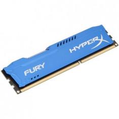 Memorie HyperX FURY Blue 4GB, DDR3, 1600MHz, CL10, 1.5V - Memorie RAM Kingston