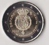 Moneda de 2 euro comemorativa SPANIA 2018_Filip VI - UNC, Europa, Cupru-Nichel