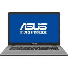 Laptop Asus VivoBook Pro 17 N705UQ-GC025 17.3 inch FHD Intel Core i5-7200U 8GB DDR4 1TB HDD 128GB SSD nVidia GeForce 940MX 2GB Endless OS Grey