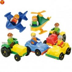 Lena mini vehicule cu figurina - Figurina Animale