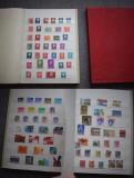 TS205 Clasor cu timbre stampilate diverse straine