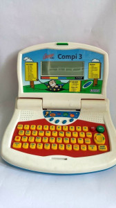 Joc de invatarea limbii germane Vtech Genius Kid Compi 3, vintage, functional