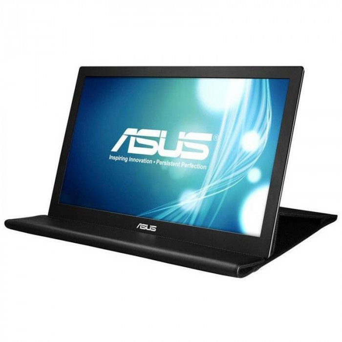 Monitor LED Asus MB168B 15.6 inch 11 ms Black foto mare