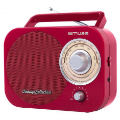 Radio portabil MUSE M-055 RD Rosu - Aparat radio
