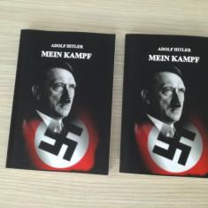 MEIN KAMPF - Lupta mea - ADOLF HITLER - NECENZURATA in lb. romana in 2 volume