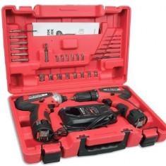 Set surubelnita si Bormasina Raider Power Tools cu acumulator marca Stayer