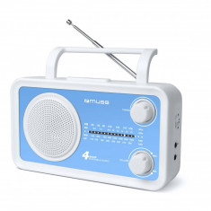 Radio portabil MUSE M-05 BL Blue - Aparat radio