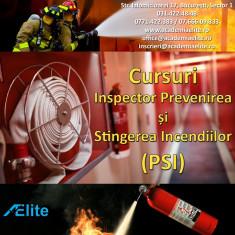 Curs Inspector Prevenirea si Stingerea Incendiilor - PSI - Academia Elite