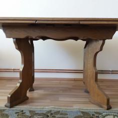 Masă de lemn extensibilă - Masa living