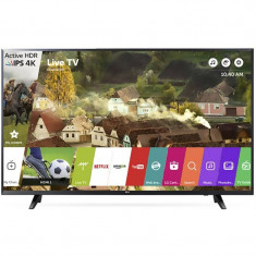 Televizor LG LED Smart TV 49 UJ620V 124cm 4K Ultra HD Black - Televizor LED