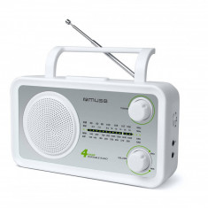 Radio portabil MUSE M-05 SW White - Aparat radio
