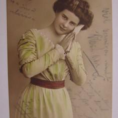 Carte postala circulata in Karansebes in anul 1911 (frumoasa vestimentatie) - Carte Postala Banat 1904-1918, Printata, Caransebes