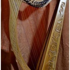 Harpa 27 corzi -Irish Rosewoods cu corzi de rezerva