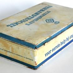 Cutie tabla veche - trusa de prim ajutor Automobilisti, Auto - Olanda - Cutie Reclama